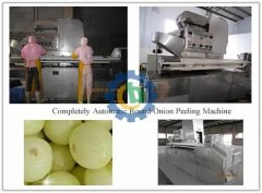 Completely Automatic Round Onion Peeling Machine
